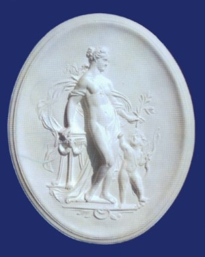Woman and Child Plaque