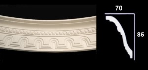 Curved Tunnel Effect and Bead Cornice