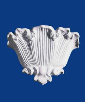 Waterleaf Up-lighter Corbel