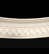 Large Beaded Curved Cornice