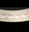 Medium Dentil Curved Cornice