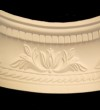 Small Floral Curved Cornice